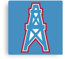 Houston Oilers Tennessee Titans Canvas Print
