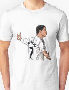 cristiano ronaldo cartoon Unisex T-Shirt