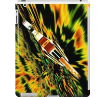 Combination Galactic Cruiser/Fighter - pillow & tote design iPad Case/Skin