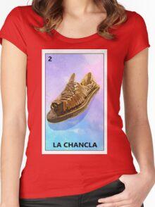 LA CHANCLA Women's Fitted Scoop T-Shirt