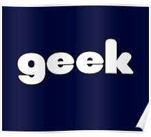 Geek T-Shirt Sticker Poster
