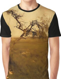 Gold Tree Graphic T-Shirt
