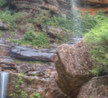 Rocks & Ferns At Wentworth Falls Sticker