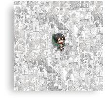Attack On Titan - Mikasa Canvas Print