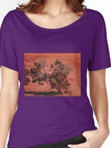 Arid Shrub Women's Relaxed Fit T-Shirt