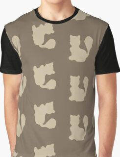 Cat background Graphic T-Shirt