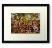 Creek 2 Framed Print