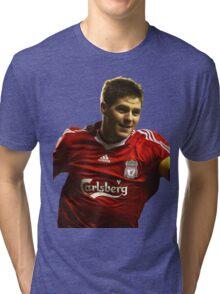 steven gerrard goal Tri-blend T-Shirt