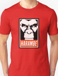 Harambe Obey Unisex T-Shirt