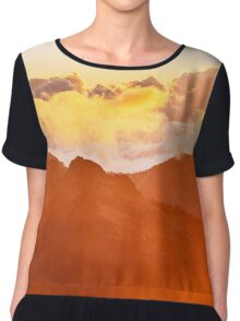 3 Metres Above The Sky Chiffon Top
