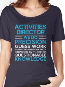 Activities director Women's Relaxed Fit T-Shirt