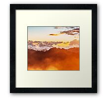 3 Metres Above The Sky Framed Print