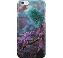 Turquoise Burr iPhone Case/Skin