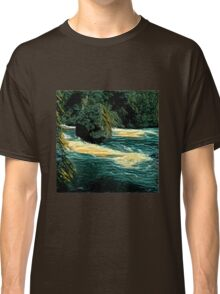 Rock in the river Classic T-Shirt