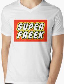 SUPER FREEK  Mens V-Neck T-Shirt
