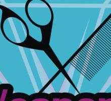 Hair Stylist Weapons Sticker