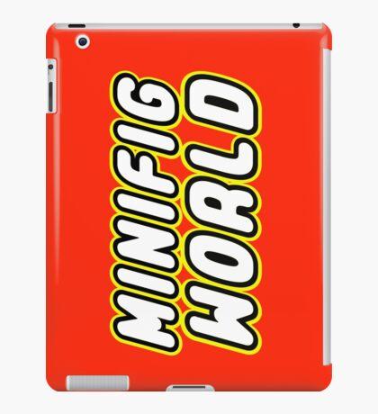 MINIFIG WORLD iPad Case/Skin
