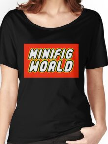 MINIFIG WORLD Women's Relaxed Fit T-Shirt