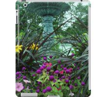 bluegreen garden iPad Case/Skin
