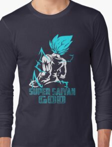Super SaiYan God Long Sleeve T-Shirt