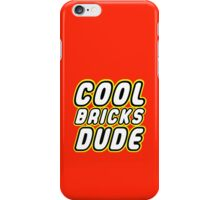 COOL BRICKS DUDE, Customize My Minifig iPhone Case/Skin