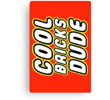 COOL BRICKS DUDE, Customize My Minifig Canvas Print