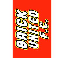 BRICK UNITED FC, Customize My Minifig Photographic Print