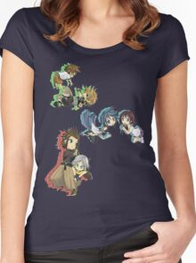 Keyblade Successor Women's Fitted Scoop T-Shirt