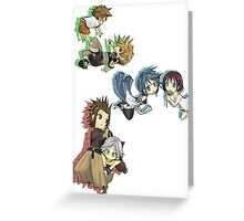 Keyblade Successor Greeting Card