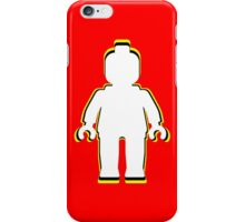 MINIFIG MAN iPhone Case/Skin