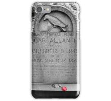 Quoth Mr. Poe, Nevermore iPhone Case/Skin