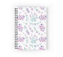 Lavander scent Spiral Notebook