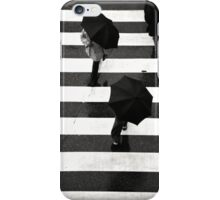Umbrella Crossing, Inage Japan iPhone Case/Skin