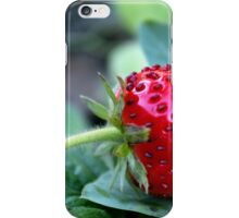 Strawberry Red iPhone Case/Skin