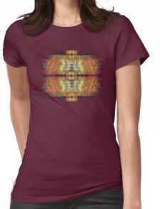 Ali  Name Abstract Calligraphy 3 Womens Fitted T-Shirt
