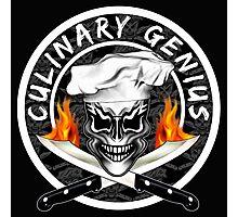 Skull Chef 1: Culinary Genius 2 Photographic Print