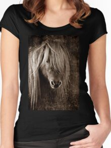 PONY Women's Fitted Scoop T-Shirt