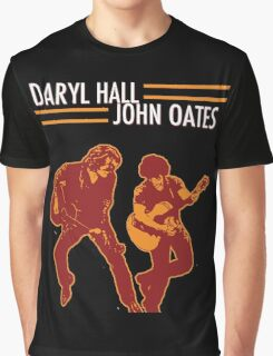 DARYL HALL AND JOHN OATES TOUR 2016 Graphic T-Shirt