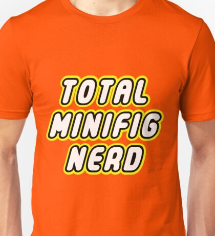 TOTAL MINIFIG NERD  Unisex T-Shirt