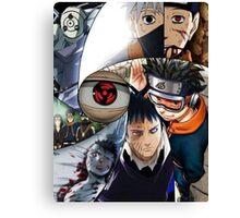 Naruto obito  Canvas Print