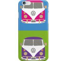 Pop Art styled camper van VW iPhone Case/Skin