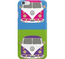 Pop Art styled camper van VW iPhone Case/Skin