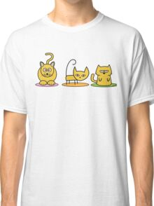 Three cats - Dynamite, Judo, Sleepy Classic T-Shirt