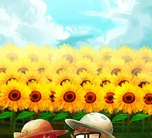 Sunflowers by xinru30
