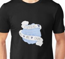 Everything Will Be Okay - Blue Unisex T-Shirt