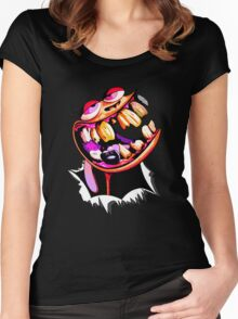 Ren in my stomach. Women's Fitted Scoop T-Shirt