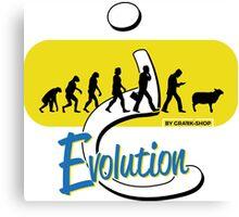 Evolution? Canvas Print