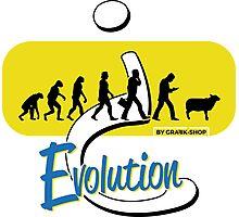 Evolution? Photographic Print