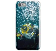 Diver on Lazy Shot iPhone Case/Skin