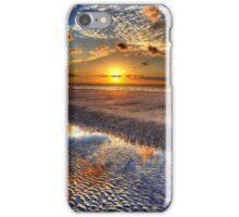 Low Tide Sunrise on Jekyll Island iPhone Case/Skin